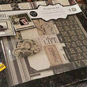 🧡Sale Item-NWT Wedding Scrapbook Kit